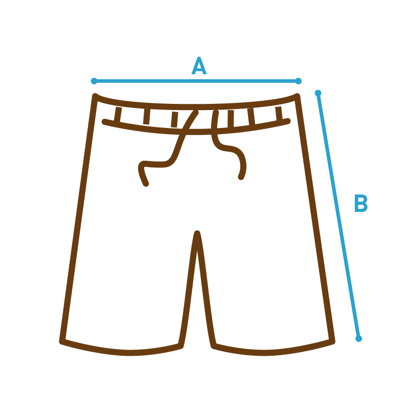 Misure pantaloncino Sandlovers