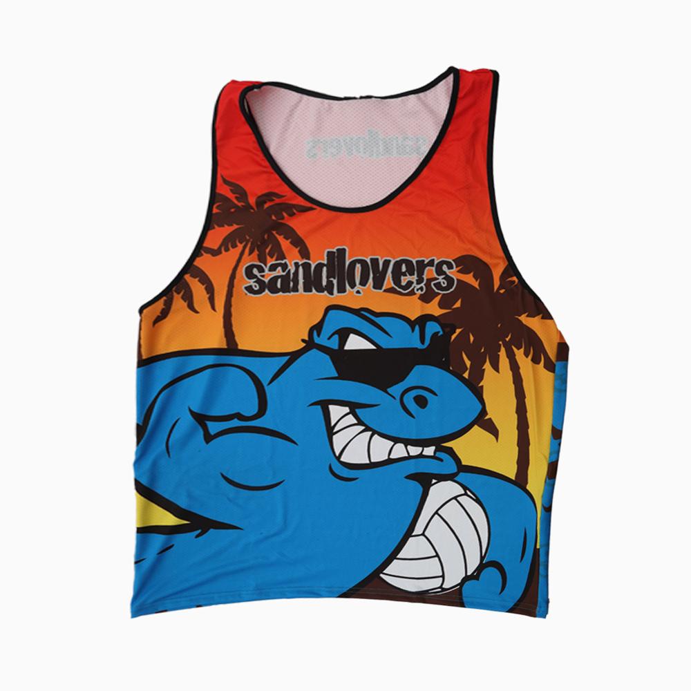 Camiseta sin mangas PRO – Tiburón