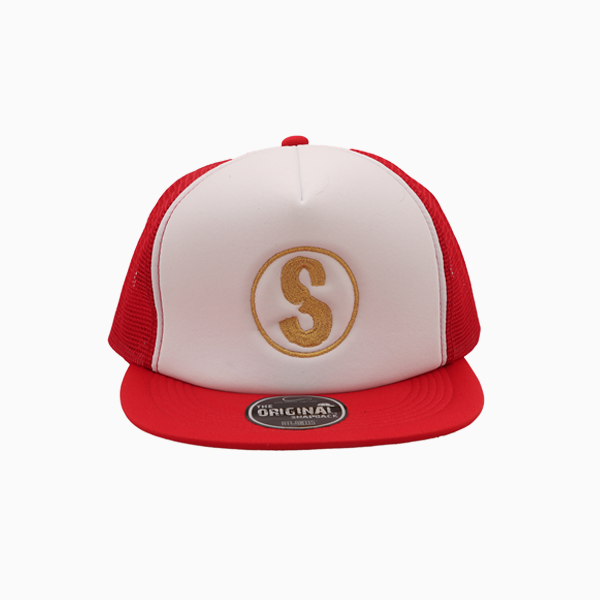 Casquette Sandlovers – Rouge / Blanc