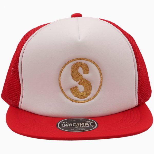 Cappellino Sandlovers – Rosso/Bianco
