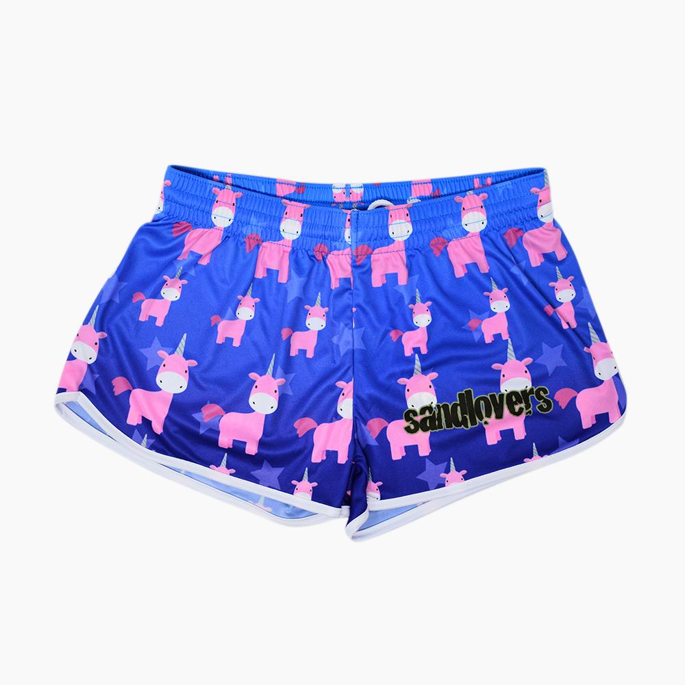 Shorts de mujer Pattern – Unicornio
