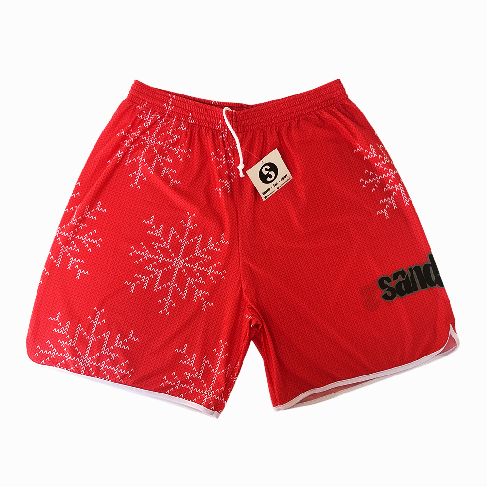 Pantaloncino Pattern Christmas Edition 2018 – Uncinetto Rosso