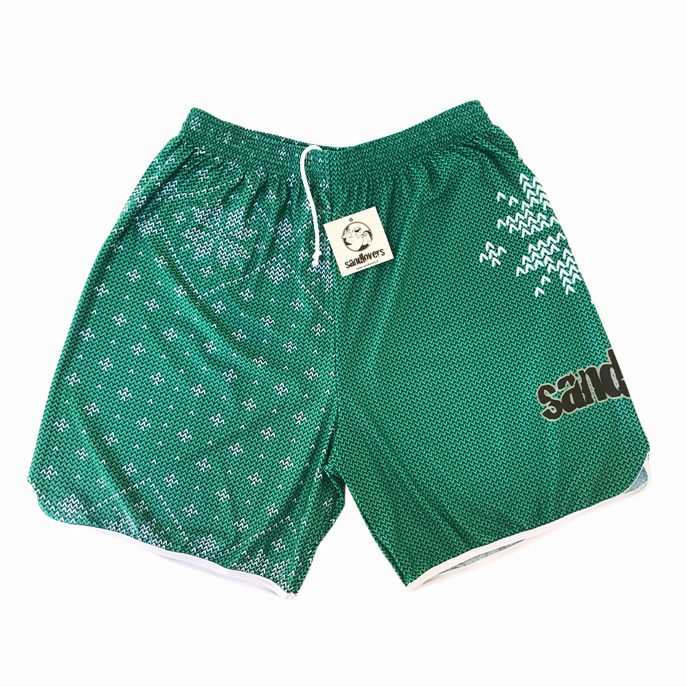 Pantaloncino Pattern Christmas Edition 2018 – Uncinetto Verde