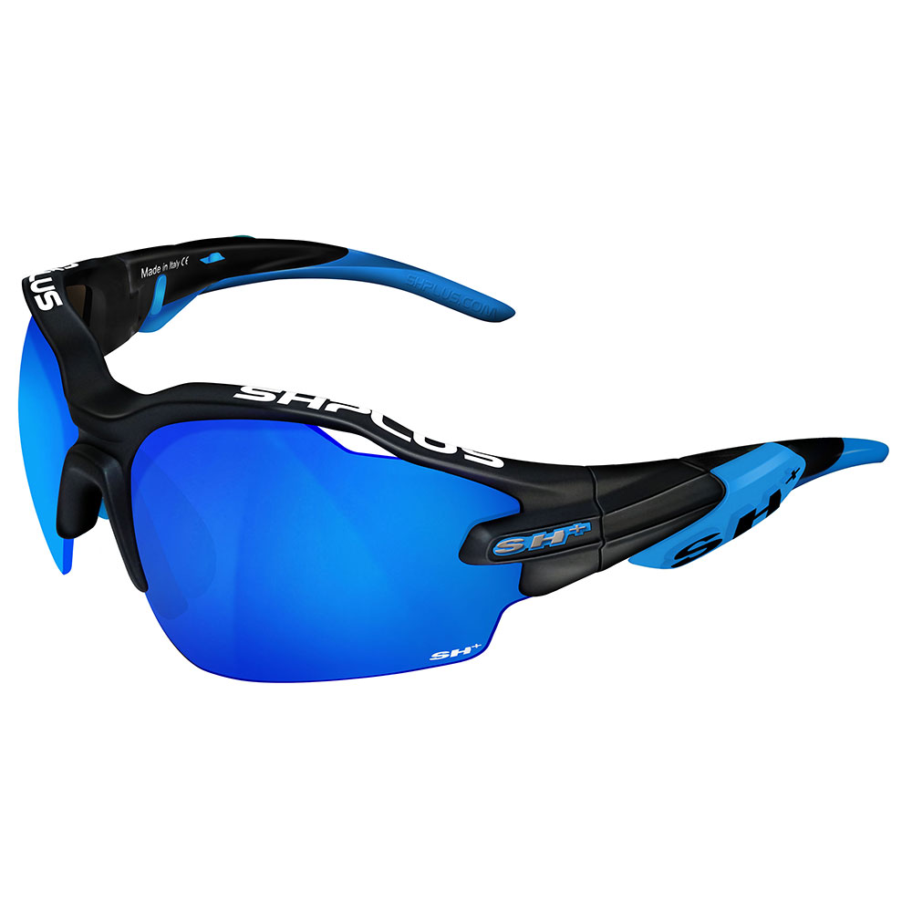 SH+ RG 5000 Nero Opaco/Blu