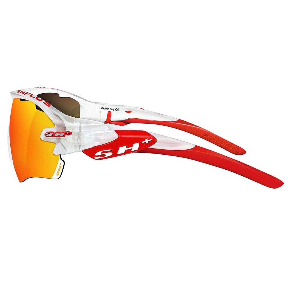 SH+ RG 5100 Bianco Trasparente/Rosso