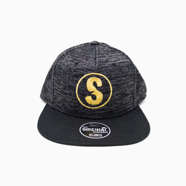 Gorra Sandlovers – Gris metalizado / negro