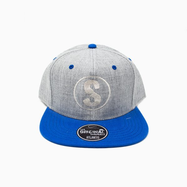 Gorra Sandlovers – Gris / azul