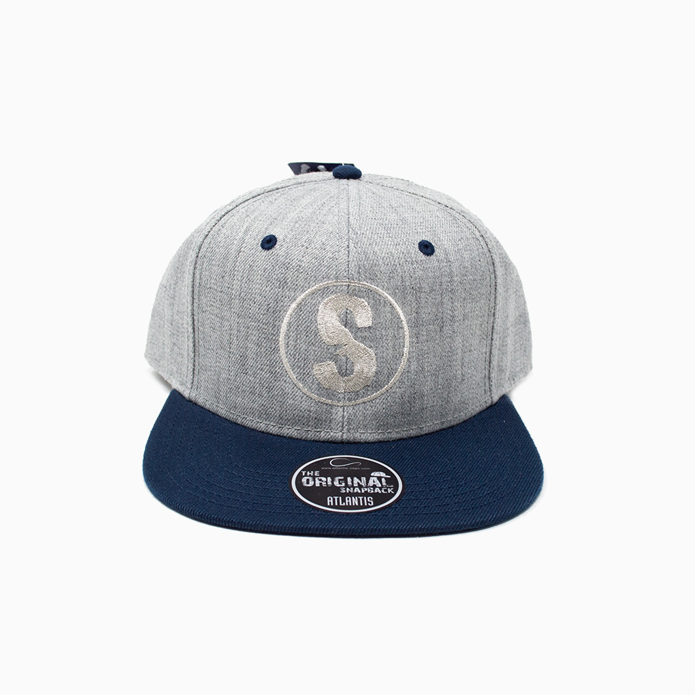 Cappellino Sandlovers – Grigio / Navy