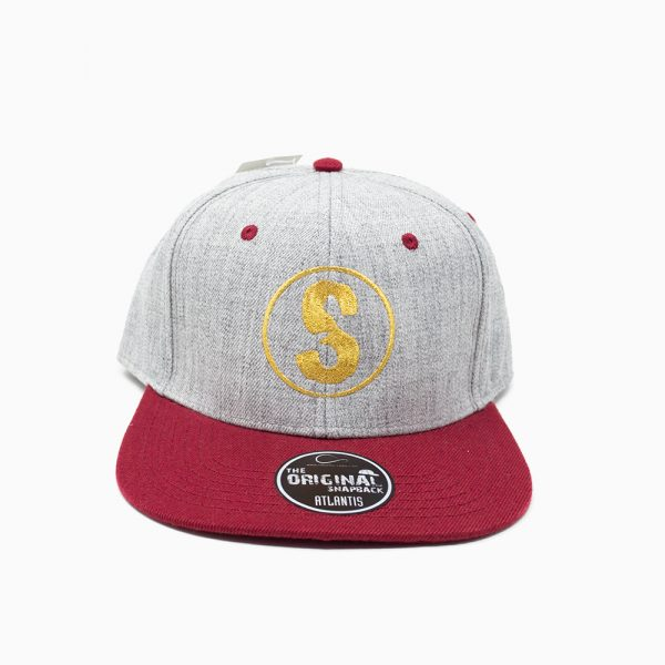 Sandlovers Cap – Grau / Bordeaux
