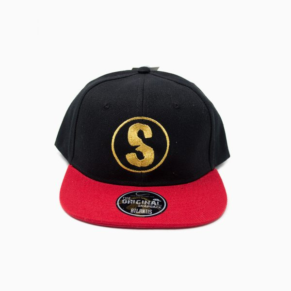 Sandlovers Cap – Schwarz / Rot