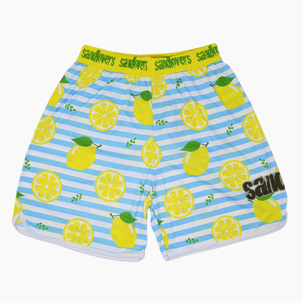 Pantaloncino Pattern 2019 – Limone