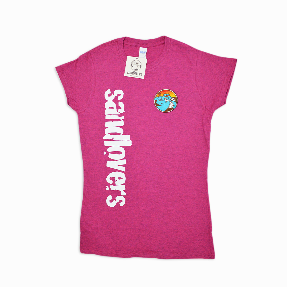 Camiseta mujer sandlovers – Fucsia