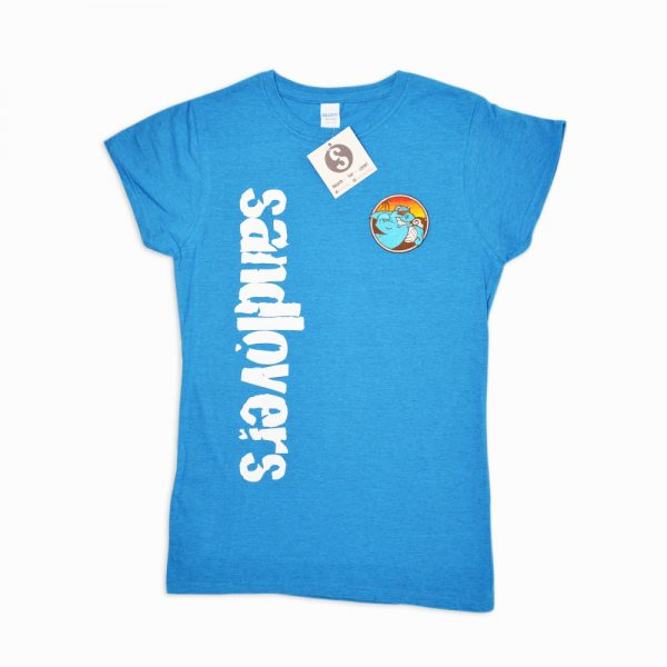 Tshirt donna Sandlovers – Turchese