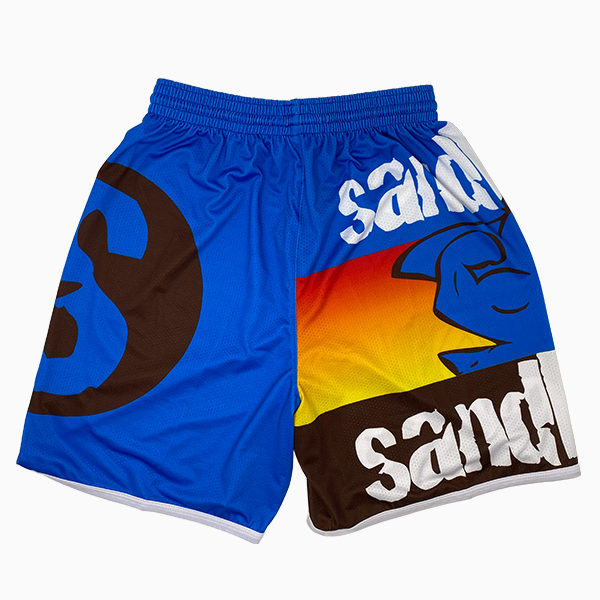 Shorts PRO – Blau