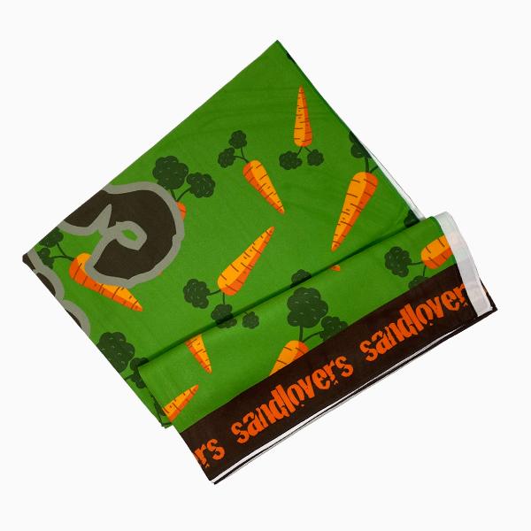 Toalla de mar – Zanahoria