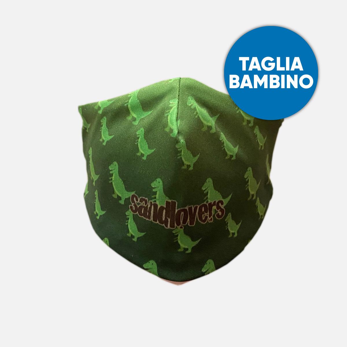 Mascherina Bimbo Sandlovers – Dinosauro