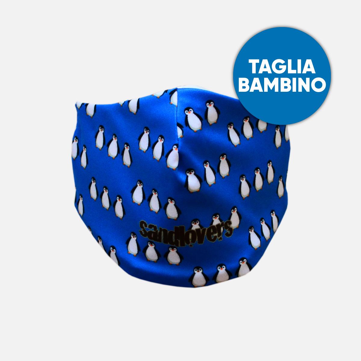 Mascherina Bimbo Sandlovers – Pinguino