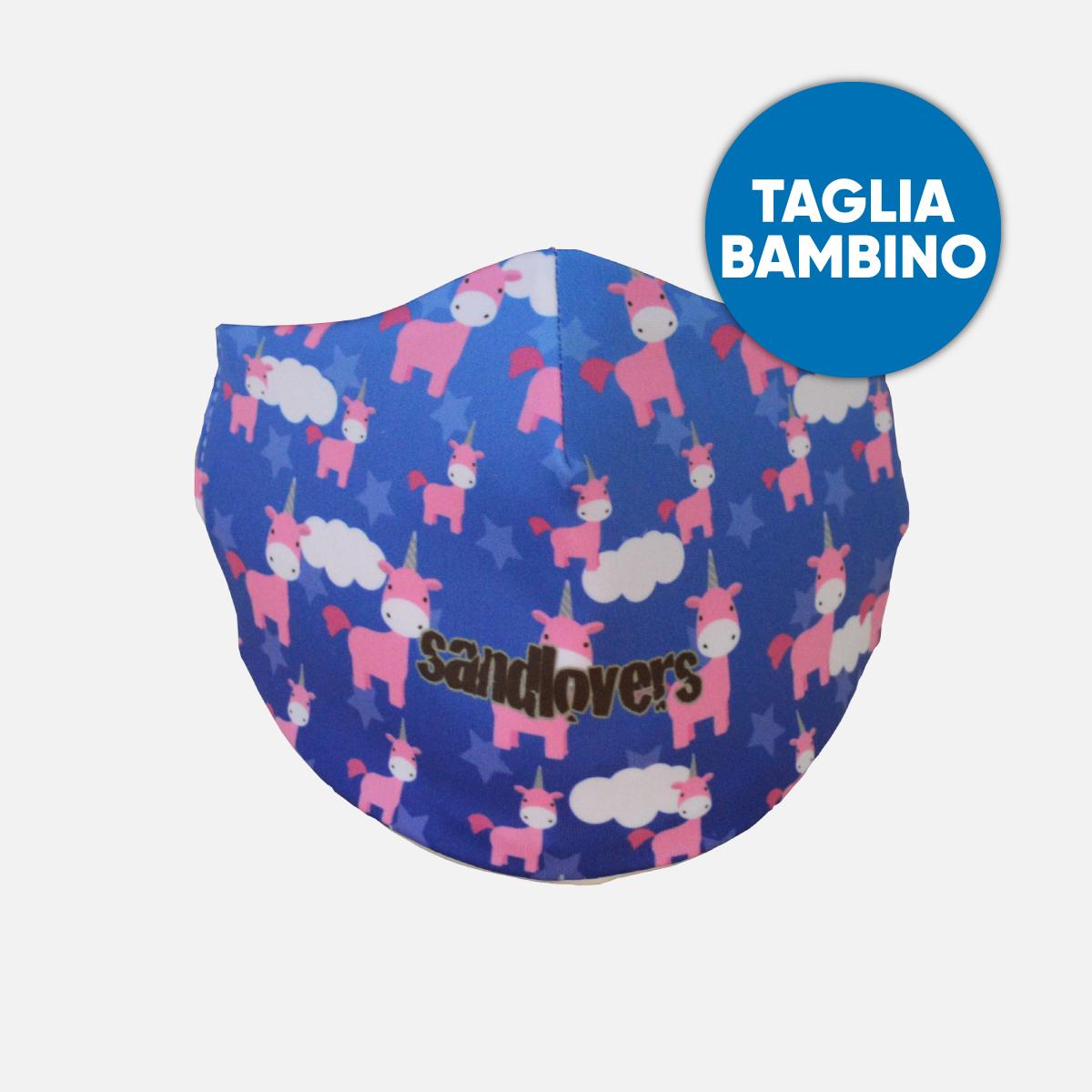 Mascherina Bimbo Sandlovers – Unicorno