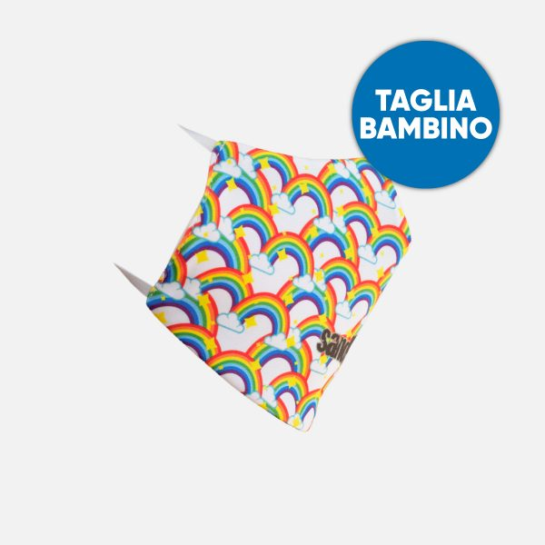 Mascherina Bimbo Sandlovers – Arcobaleno