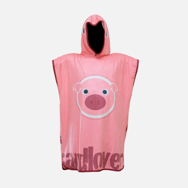 Poncho Sandlovers Bademantel – Schwein