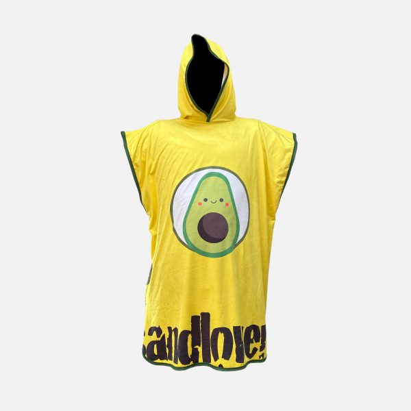 Accappatoio Poncho Sandlovers – Avocado