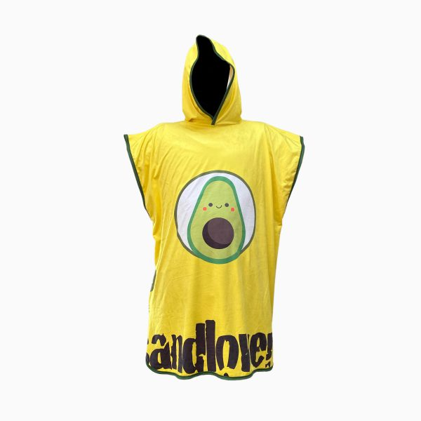 Accappatoio Poncho Sandlovers – Avocado